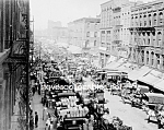 1915 CHICAGO, ILLINOIS, S. Water Street Photo-8x10