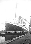 Click here to enlarge image and see more about item PR0825B1-2007: 1912 TITANIC Ocean Liner in Port  - Photo - 5x7