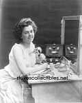 c.1909 Woman Using QUACK MEDICINE Vibrator PHOTO 8 x 10