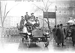 Click here to enlarge image and see more about item PR0831A1-2006: 1913 NYC Engine 91 FIRE TRUCK PHOTO - 8 x 10