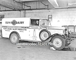 Click here to enlarge image and see more about item PR0831A2-2007: Early Springfield SUN-RAY DAIRY TRUCK PHOTO - 8 x 10