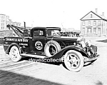 Click here to enlarge image and see more about item PR0831A3-2007: Early Springfield TOW TRUCK Wrecker PHOTO - 8 x 10
