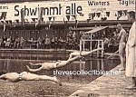 c.1920 MALE SWIM MEET Hot Photo - GAY INTEREST