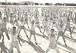 Vintage Shirtless Soldiers JUMPING JACKS - GAY INTEREST