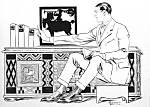 Click here to enlarge image and see more about item PR0910A1-2007: c.1910 Artist Penfield - ILLUS. Beautiful Man - Gay Int
