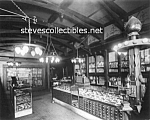 Click here to enlarge image and see more about item PR1006A1-2007: c.1911 Buffalo NY CIGAR STORE Interior Photo - 8x10