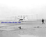 Click here to enlarge image and see more about item PR1020A1-2007: 1903 WRIGHT BROTHER Flying Machine Flight Photo - 8x10