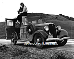 1936 Dorothea Lange and FORD MODEL B (V-8) Photo-8x10