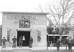 Click here to enlarge image and see more about item PR1102A3-2007: c.1900 ANAHEIM California PRESSEL BLACKSMITH SHOP Photo