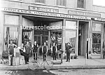 Click here to enlarge image and see more about item PR1102A6-2007: c.1910 ANAHEIM California DICKEL HARDWARE STORE+ Photo