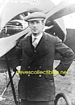 c.1919 HARRY HAWKER with Aircraft Newswire PHOTO