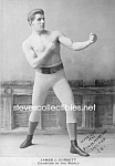 Click here to enlarge image and see more about item PR1102B2-2007: c.1893 BOXING CHAMPION: James J. Corbett Photo
