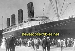 Click here to enlarge image and see more about item PR1102B4-2007: c.1907 LUSITANIA Arriving NY PHOTO - matted