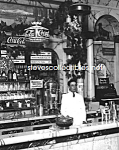 1923 RIKERS DRUG STORE Interior, COCA COLA Adv. Photo C