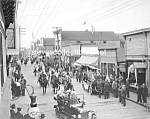 Click here to enlarge image and see more about item PR1123A4-2007: 1916 NOME, ALASKA July 4th Celebration - Photo - 8 x 10