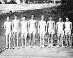 c.1915 YALE Varsity Rowing TEAM Photo - GAY INTEREST