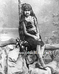 c.1889 Krao Farini - Bearded Woman Side Show - Photo