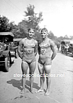 c.1923 WET PHYSIQUES - Male Swimmers Photo-GAY INTEREST