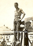 Vintage Blonde LIFEGUARD Stud Photo-GAY INTEREST