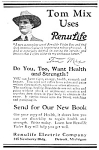Click here to enlarge image and see more about item QU0122A2: 1923 TOM MIX ENDORSED Violet-Ray Machine QUACK Ad