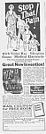 Click here to enlarge image and see more about item QU0525BB2: 1928 LINDSTROM Electric Vibrator QUACK Ad