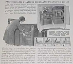 Click here to enlarge image and see more about item RA0105A1: 1927 JUKEBOX Phonograph Mag. Article