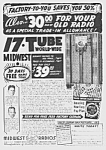 Click here to enlarge image and see more about item RA0529AA1: 1938 MIDWEST WOODEN FLOOR RADIO Mag. Ad