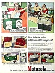 Click here to enlarge image and see more about item RA0605A: 1952 PLASTIC Motorola RADIOS Ad