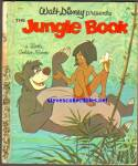 Click here to enlarge image and see more about item RCB0101511A17: JUNGLE BOOK A First Edition - Little Golden Book