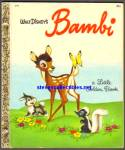 BAMBI - Disney - Little Golden Book