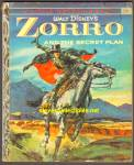 Click here to enlarge image and see more about item RCB010511A10: Disney ZORRO AND THE SECRET PLAN Little Golden Book