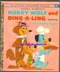 Click here to enlarge image and see more about item RCB010511A16: HOKEY WOLF AND DING-A-LING - Little Golden Book