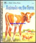 ANIMALS ON THE FARM - Little Golden Book