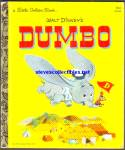 DUMBO Little Golden Book - Disney