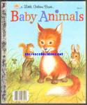 BABY ANIMALS - Little Golden Book
