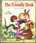 Click here to enlarge image and see more about item RCB010811A29: THE FRIENDLY BOOK - Little Golden Book - Garth Williams