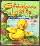 Click here to enlarge image and see more about item RCB010811A39: CHICKEN LITTLE Tell A Tale Book