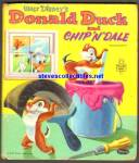 DONALD DUCK and CHIP 'N' DALE - Tell-A-Tale Book - 1954