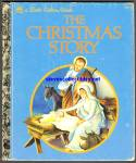 Click here to enlarge image and see more about item RCB012911A001: THE CHRISTMAS STORY - Little Golden Book - Wilkin