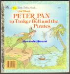 PETER PAN IN TINKERBELL AND THE PIRATES-Golden Book