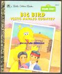 BIG BIRD VISITS NAVAJO COUNTRY- Little Golden Book