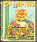 Click here to enlarge image and see more about item RCB031011A001: BIG LITTLE KITTY - Tell A Tale Book - 1953