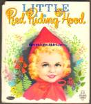 LITTLE RED RIDING HOOD Tell-A-Tale Book
