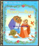 BEAUTY AND THE BEAST - Disney - Little Golden Book