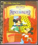 Click here to enlarge image and see more about item RCB031111a009: Disney THE PRINCE AND THE PAUPER Little Golden Book