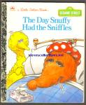 SESAME STREET THE DAY SNUFFY HAD THE SNIFFLES lgb