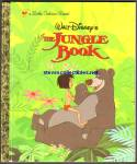 Click here to enlarge image and see more about item RCB031111a029: JUNGLE BOOK A First Edition - Little Golden Book