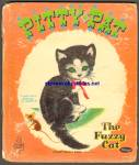 Click here to enlarge image and see more about item RCB031111a048: PITTY PAT Fuzzy Wuzzy Tell a Tale Book