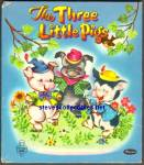 Click here to enlarge image and see more about item RCB033011a003: THE THREE LITTLE PIGS - Tell-A-Tale Book 1953