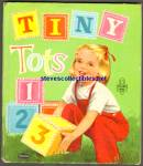 TINY TOTS 123- Tell-A-Tale Book 1958